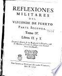 Reflexiones militares del Vizconde de Puerto
