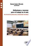 Reflexiones y recursos para el trabajo en el aula