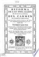 Reforma de los descalzos de nuestra señora del Carmen