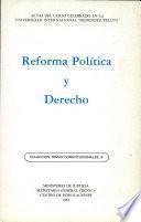 Reforma Política y Derecho