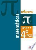 Refuerzo de Matemáticas 4º ESO - Opción B