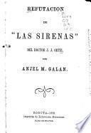 Refutación de Las sirenas del doctor J.J. Ortiz