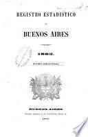 Registro estadistico de la Provincia de Buenos Aires