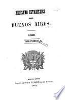Registro estadístico de la provincia de Buenos Aires