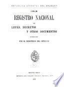 Registro nacional de leyes de la República Oriental del Uruguay