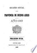 Registro oficial de la provincia de Buenos Aires