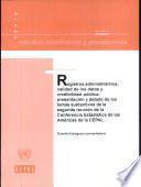Registros Administrativos, Calidad de los Datos y Credibilidad Pública