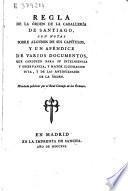 Regla de la Orden de la Caballería de Santiago