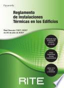 Reglamento de instalaciones térmicas en los edificios ( RITE 2013)