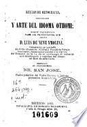 Reglas de ortografia, diccionario y arte del idioma othomi