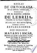 Reglas de ortografia en la lengua castellana ...
