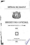 Rejistro oficial del gobierno provisorio de la República del Paraguay