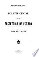 Relación de los empleados de la Secretaría de Estado