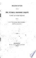 Relacion de viaje en los Ríos Putumayo, Caraparaná y Caquetá y entre las tribus Güitotas