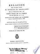Relacion del último viage al estrecho de Magallanes de la fragata de s.m. Santa María de la Cabeza en los años de 1785 y 1786