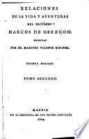 Relaciones de la vida y aventuras del escudero Marcos de Obregón