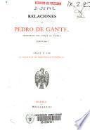 Relaciones de Pedro de Gante, secretario del Duque de Nájera (1520-1544)