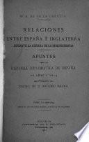 Relaciones entre España é Inglaterra durante la guerra de la independencia