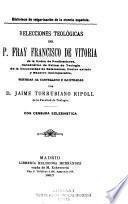 Relecciones teologicas