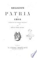 Religion patria y amor coleccion de versos escritos por José M. Tórres Caicedo