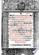 Remedio de cuerpos humanos, y silva de exiencias, etc. (Antidotario, etc.) G.L. Few MS. notes