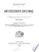 Repertorio de antigüedades chilenas