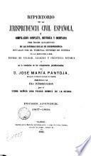 Repertorio de la jurisprudencia civil española, 1