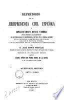 Repertorio de la jurisprudencia civil española, 4