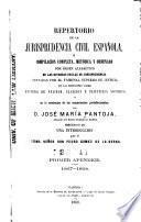 Repertorio de la jurisprudencia civil española