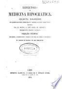 Repertorio de medicina hipocrática