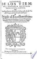 Reportorio de los tiempos y historia natural desta Nueva Espana