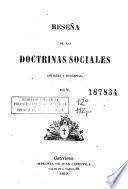 Reseña de las doctrinas sociales antiguas y modernas