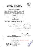 Reseña historica de la beneficencia española