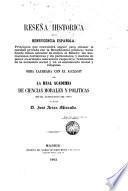 Reseña histórica de la beneficencia española