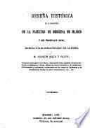 Reseña histórica de la Biblioteca de la Facultad de Medicina de Madrid y sus principales joyas