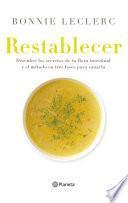 Restablecer