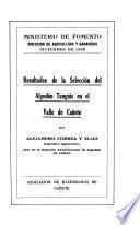 Resultados de la selección del algodón Tangüis en el valle de Cañete