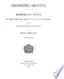 Resultados del Observatorio Nacional Argentino en Córdoba ...