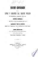 Resumen cronológico de las leyes y decretos del credito publico de Venezuela, desde el año 1826