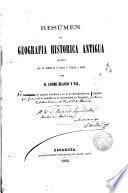 Resumen de Geografía, Histórica Antigua