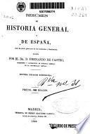 Resúmen de Historia general y de España...