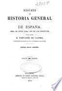 Resúmen de Historia general y de España
