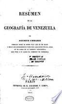 Resúmen de la geografía de Venezuela