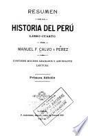 Resumen de la historia del Perú