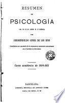Resumen de psicología