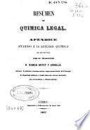 Resúmen de química legal
