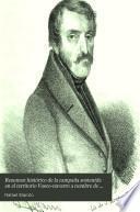 Resumen histórico de la campaña sostenida en el territorio vasco-navarro a nombre de D. Carlos Maria Faidro de Borbon de 1833 a 1839