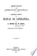 Resumen historico de la literatura española ...