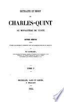 Retraite et mort de Charles-Quint au monastère de Yuste