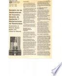 Revisión de las declaraciones de impuesto, derecho de apelación, y reclamaciones de reembolsos